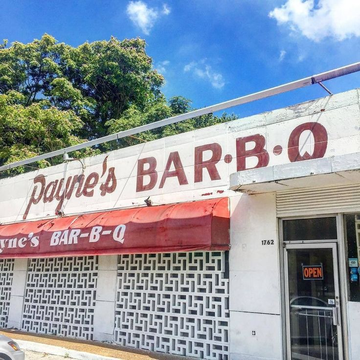 Score tempting pork sandwich at Paynes Bar-B-Que!  #BBQ #Memphis #USA #Barbeque #BestBarbeque : @corissafunk
