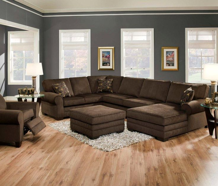 brown sofa brown furniture brown decor living room leather wood style