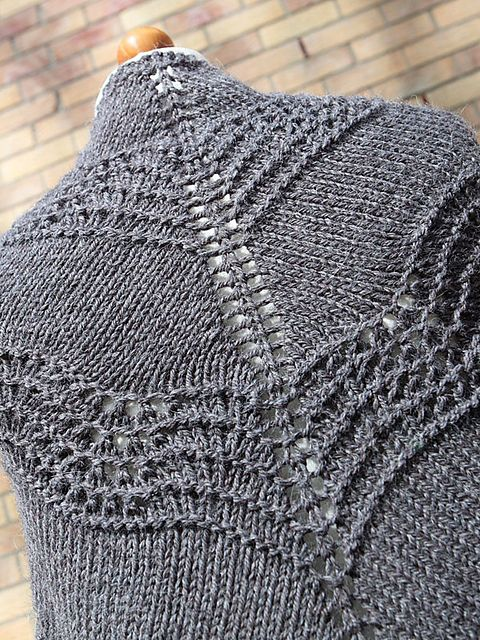 Ravelry: Old Shale Shawl pattern by Amanda Clark