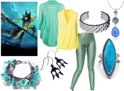 """League of Legends """"Nami"""" Casual Cosplay"""