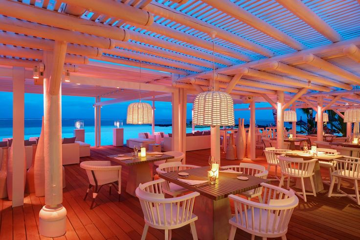 Beach rouge restaurant at lux belle mare i love that for Kitchen design mauritius