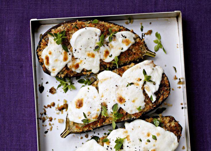 sauteed aubergines and mozzarella | #recipe #vegetarian #foodwise