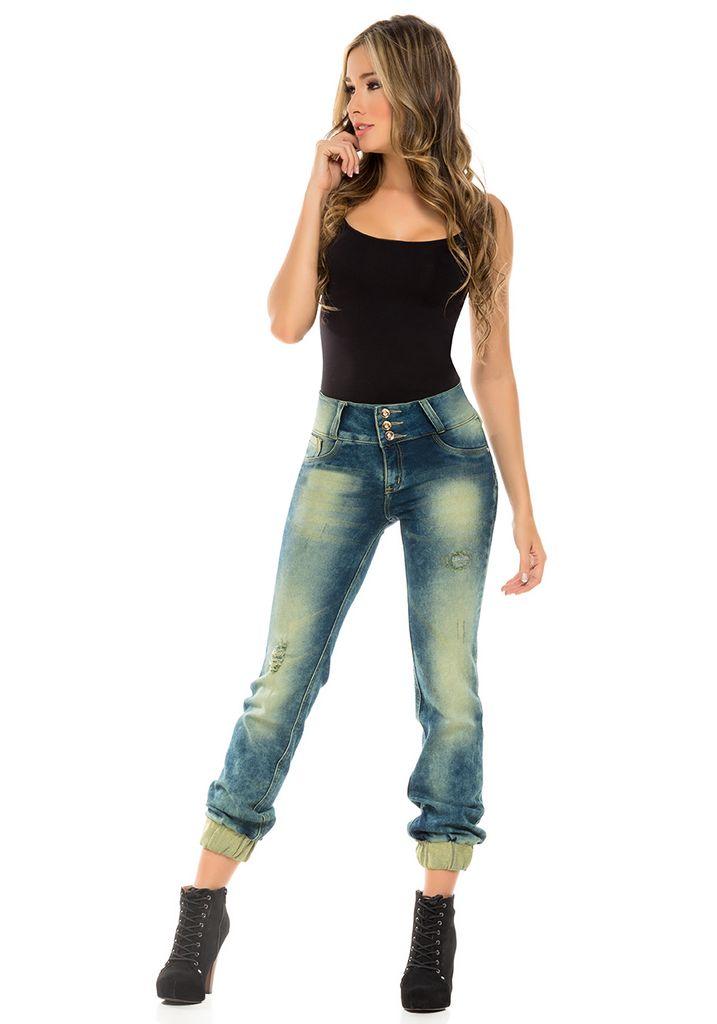Jeans Colombianos Levanta Cola Virtual Sensuality