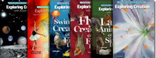 Planner files on PDF for supplies and lesson checklists for the Apologia Exploring Creation with..... series.