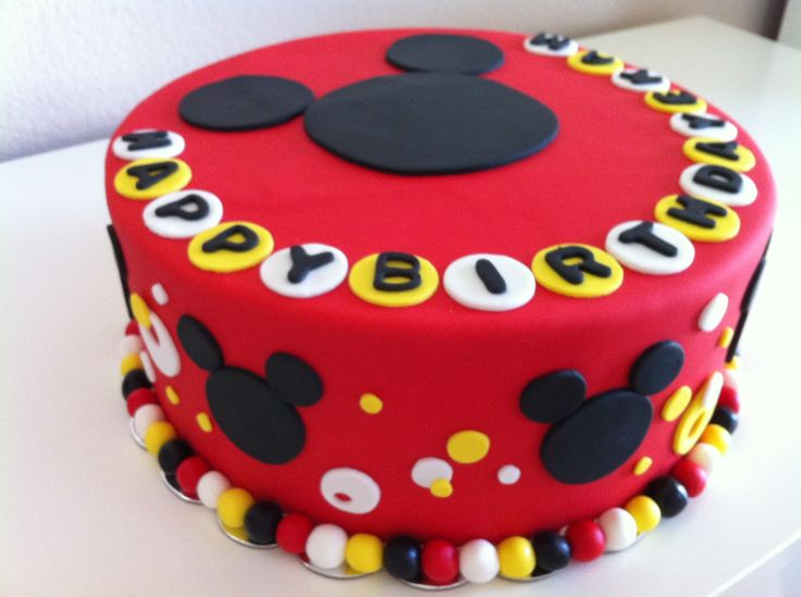 718 Best Cakes Mickey Mouse Clubhouse Images On Pinterest Fiesta