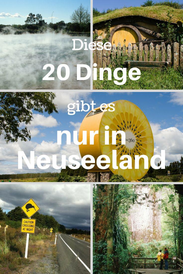 Diese 20 Dinge gibt es (fast) nur in Neuseeland - weshalb ihr unbedingt hinfahren und dieses wunderschöne Land bereisen solltet! #Neuseeland #20things #Neuseelandreise