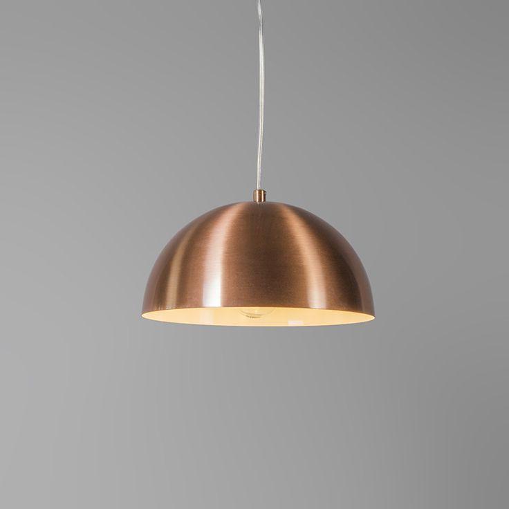 Pendelleuchte Magna 25 Kupfer matt: Hippe Pendelleuchte Magna 25 in minimalistischem Look. #pendelleuchte #innenbeleuchtung #einrichten #wohnen #Beleuchtung