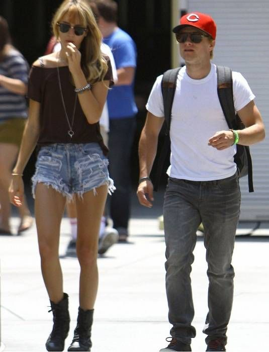 Josh with ex-girlfriend Lanchen Mihalic. They are cute together