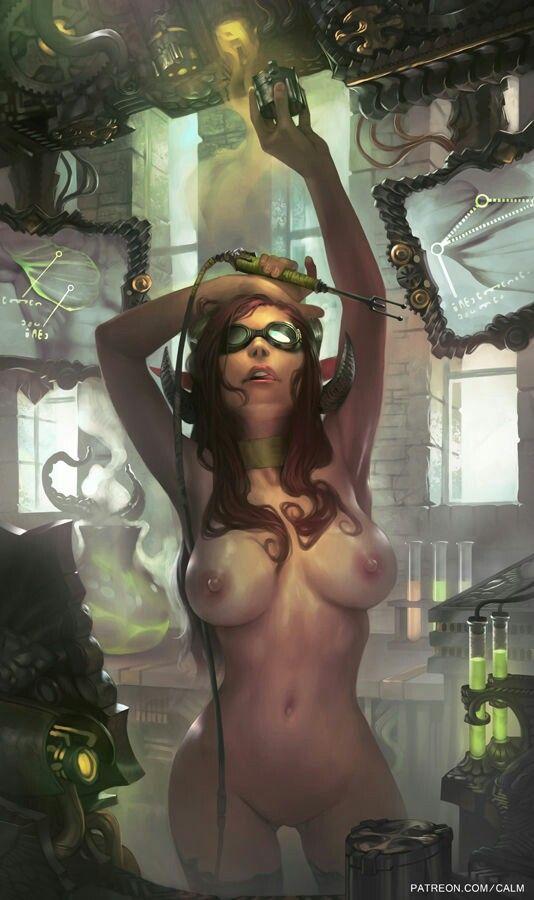 Calmdraws erotica art