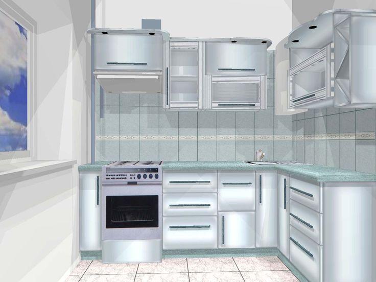 дизайн кухни в хрущевке: 6