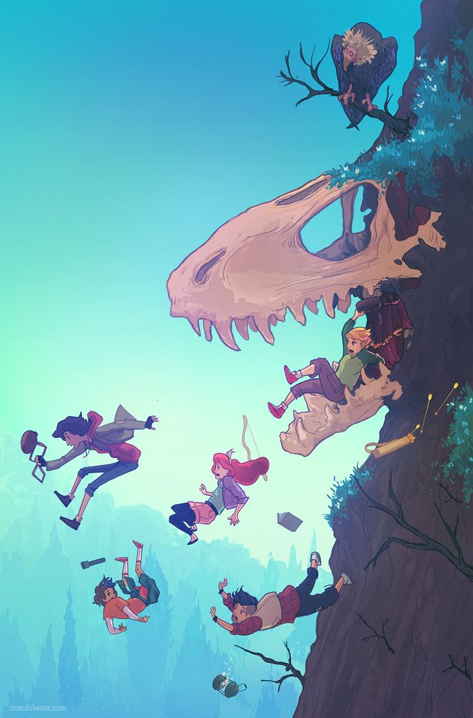 ricardobessa: Lumberjanes #15 variant coverThis is very exciting.The cover I did for Lumberjanes has just been announced, and it's coming out in June!This was tremendously fun to work on and I have a huge respect for Boom! Studios, Lumberjanes and the people behind it. Not to mention comic covers are the best thing! So this was pretty much a dream project. Many thanks to Whitney Leopard for this opportunity! This issue is out TODAY! (I think.) Maybe your local comic book shop has a couple…