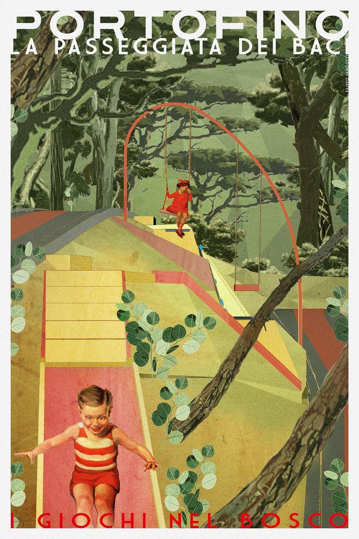 filippo fanciotti  i giochi nel bosco  la passeggiata dei baci filippofanciotti.com