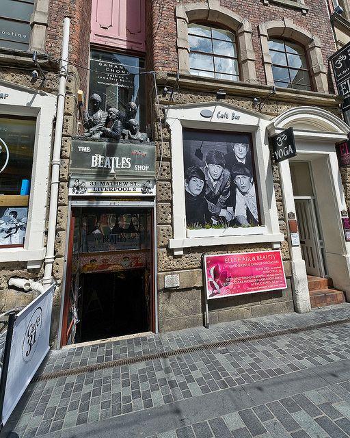 Liverpool, England--touring John and Paul's childhood homes