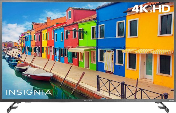 "Popular on Best Buy : Insignia - 50"" Class (49.5"" Diag.) - LED - 2160p - Smart - 4K Ultra HD TV Roku TV"