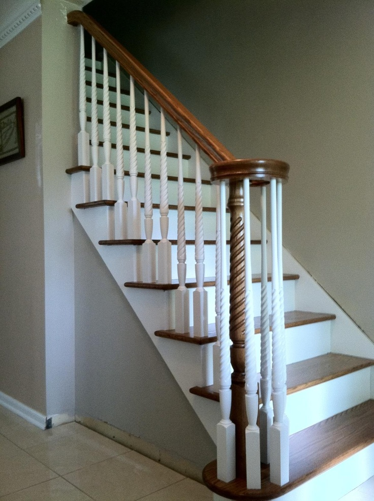 17 best images about stairs and rails on pinterest satin for Hardwood floors on stairs