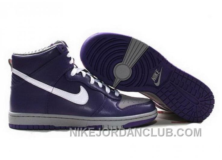 Low Cost Womens Nike Dunk High Top Shoes Purple White Grey, Price: - Air  Jordan Shoes, New Jordan Shoes, Michael Jordan Shoes