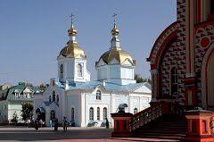 Храм в монастыре. Тамбов