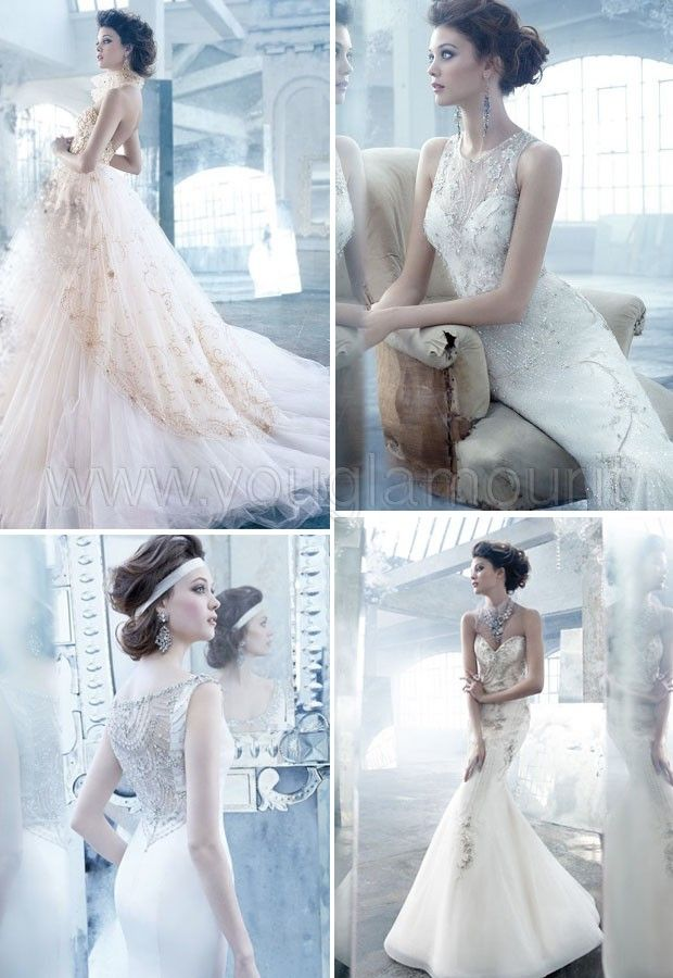 Lazaro collezione abiti da sposa 2014