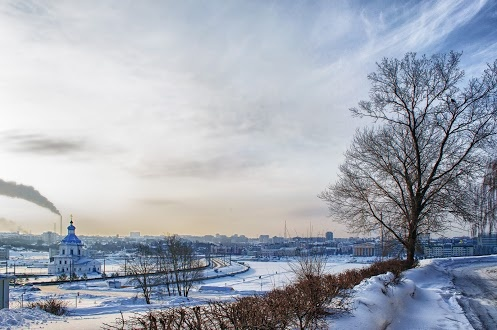 Cheboksary in winter