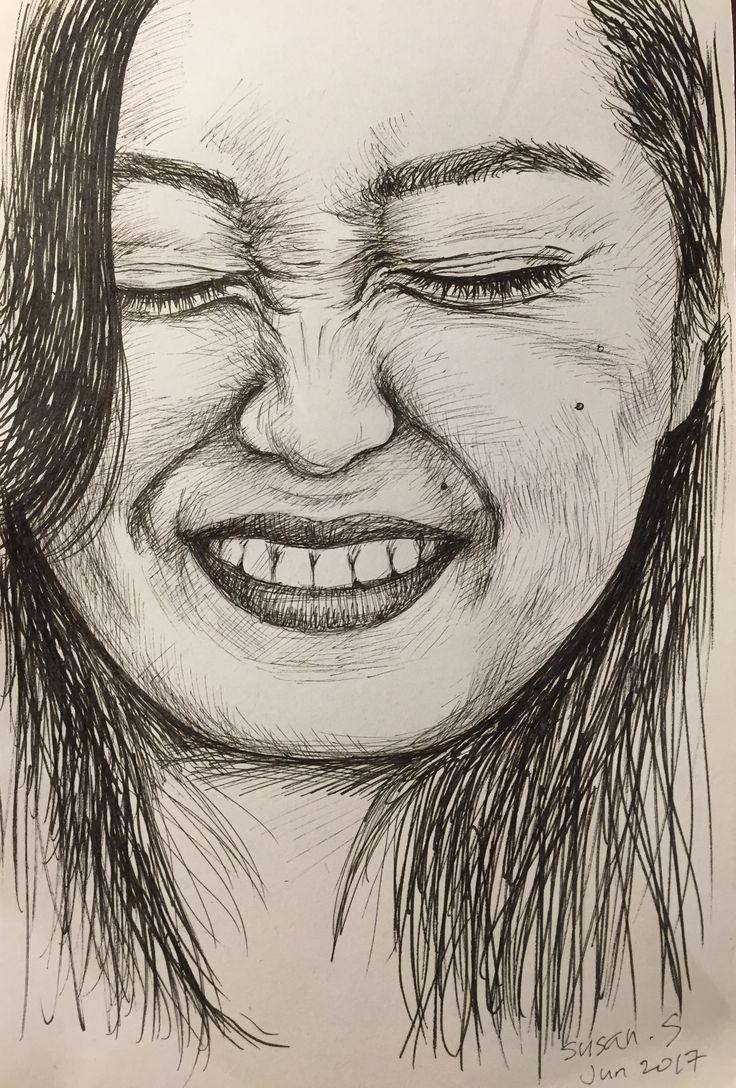 #pen #drawing #portrait