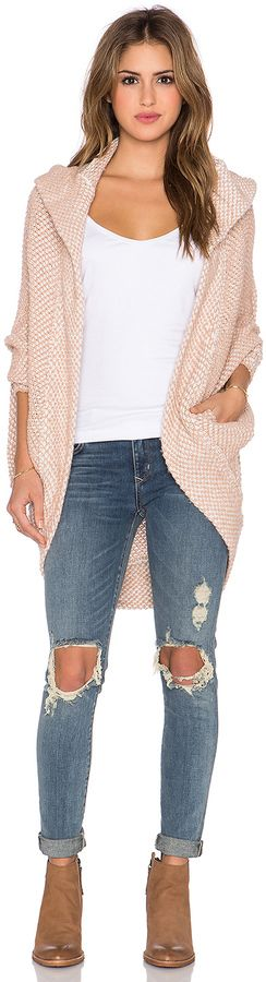 FAVE: Free People Coco Cocoon Cardigan: love everything about this cardi