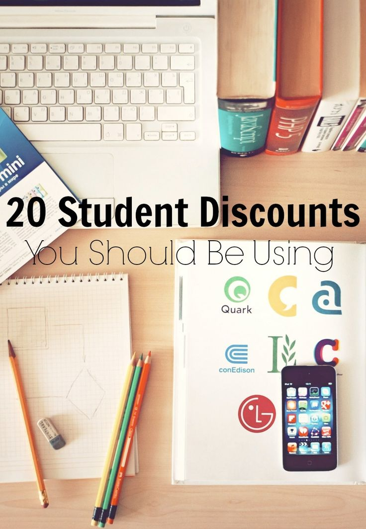 20 Student Discounts You Should be Using | The Beautiful Little Fools