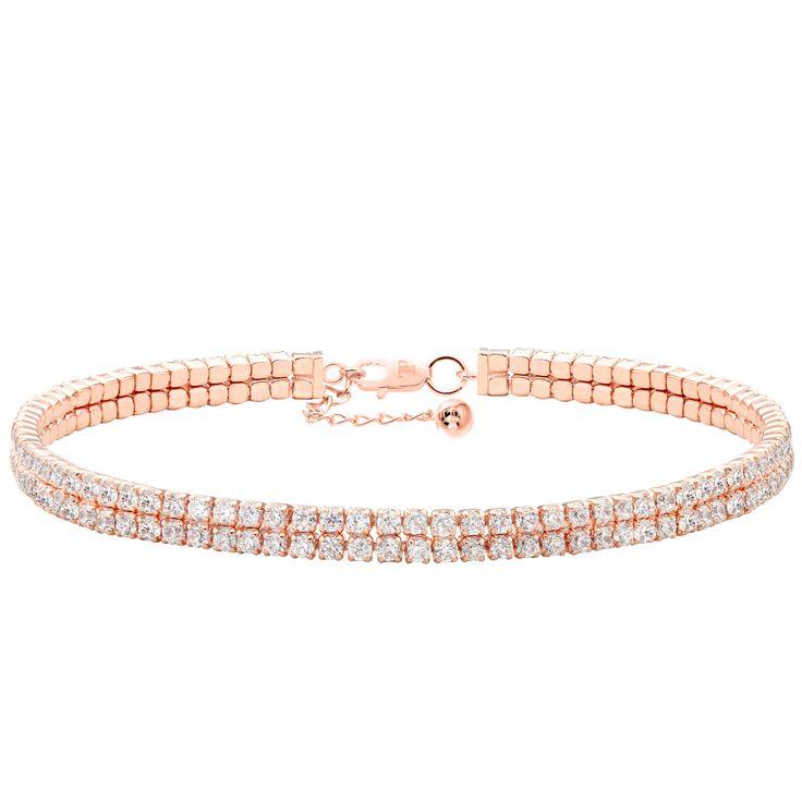 Double Splendeur Rose Bracelet