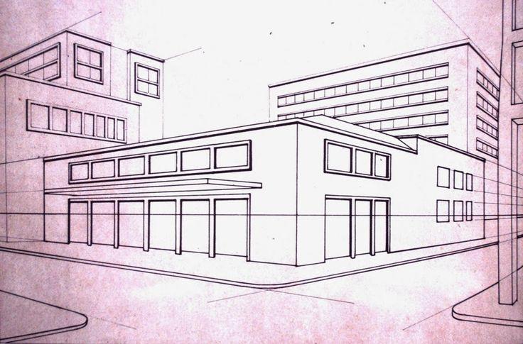 17 mejores ideas sobre perspectiva paralela en pinterest for Exterior un punto de fuga