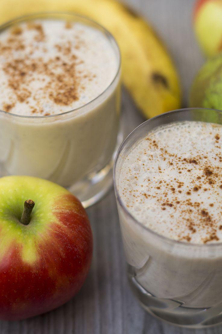 appel-peer-banaan-kaneel-smoothie-recept-gezond. Goedgekeurd door Klaas