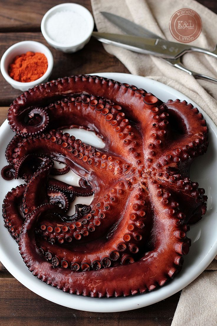 Осьминог по кипрски рецепт с фото