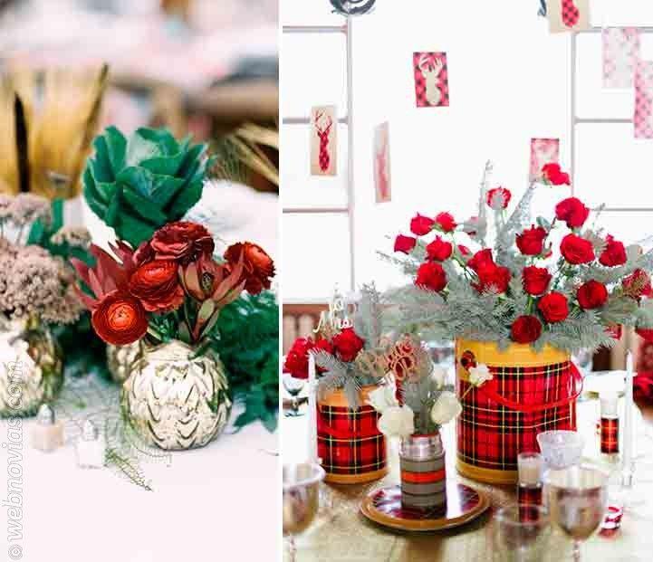 4 ideas para decorar tu boda en navidad http www - Navidad ideas para decorar ...