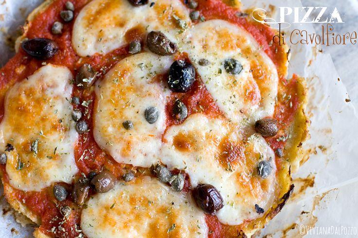 pizza cavolfiore bianco