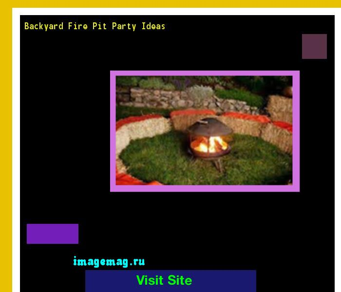 Backyard Fire Pit Party Ideas 092911 - The Best Image Search