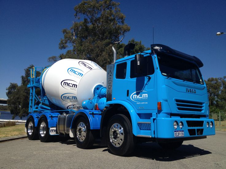 Midland Cement Materials trucks built by WA IVECO