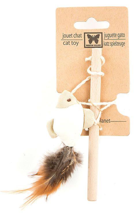 4,03€ Jouet pour chat - Canne à pêche canacats - Poisson plume