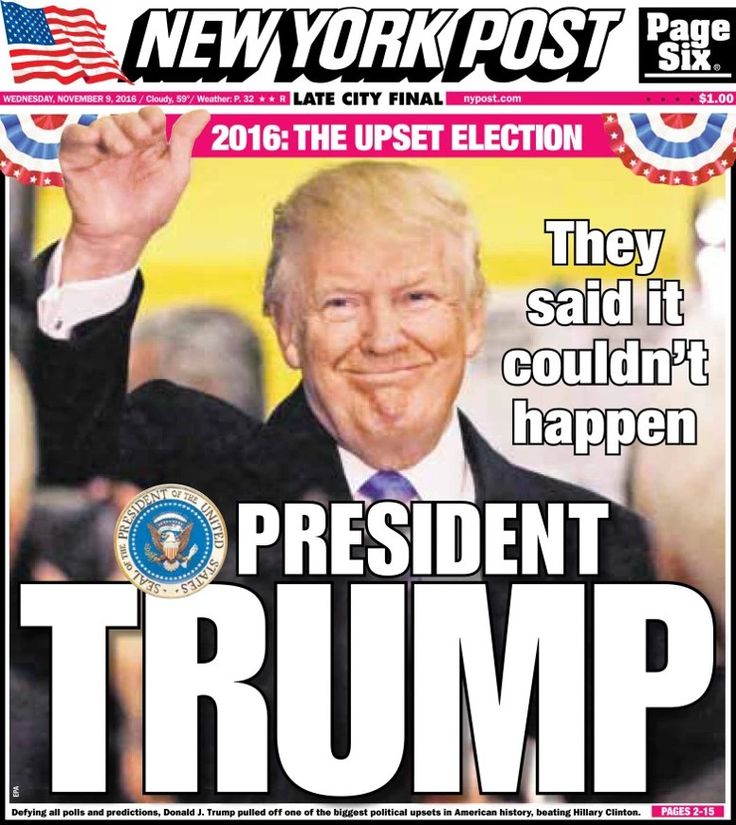 The mainstream media couldn't have been more wrong, and now EVERYONE knows what hack tabloids they really are !