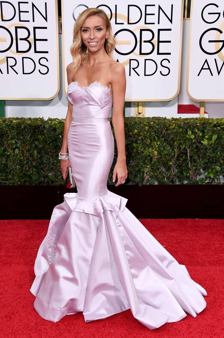 Giuliana rancic 2014 oscars paolo sebastian dress - Giuliana Rancic