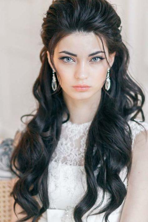 wavy wedding hairstyles