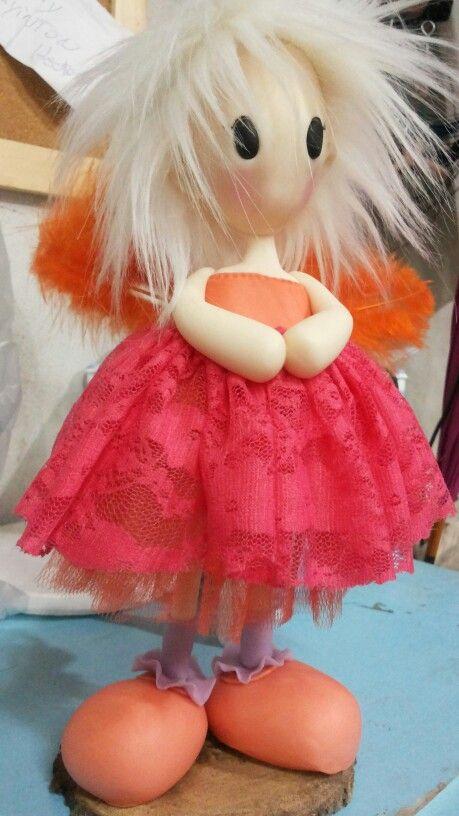 Angelita naranja