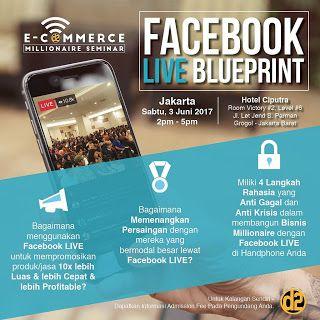 BISNIS ONLINE 2017: Jangan Lewatkan Promo Tiket Seminar Facebook Live ...