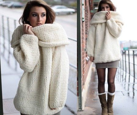32 best Knit wear images on Pinterest | Chunky knit sweaters ...