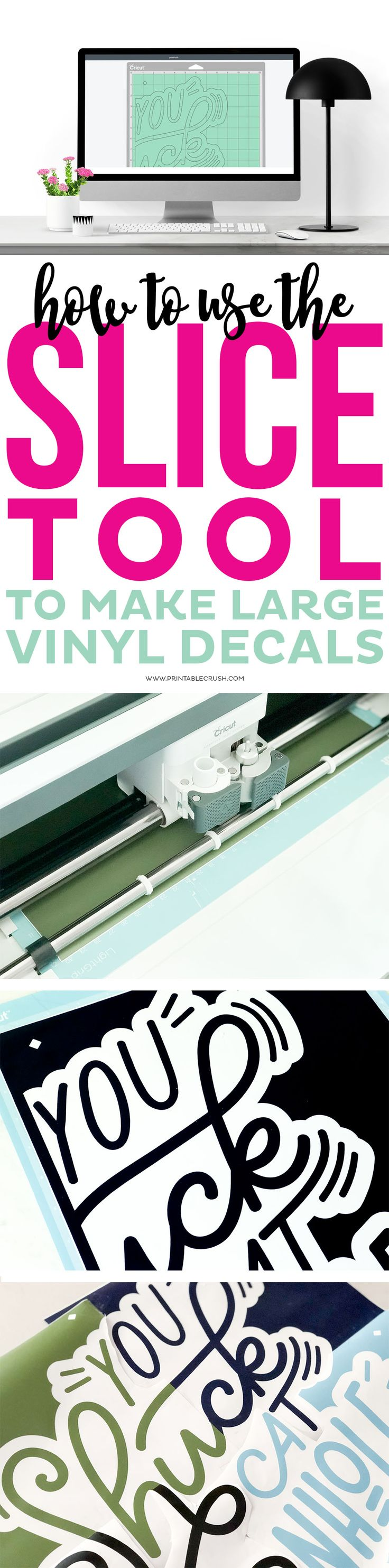 Vinyl Decals Create Large Decals In Cricut Design Space