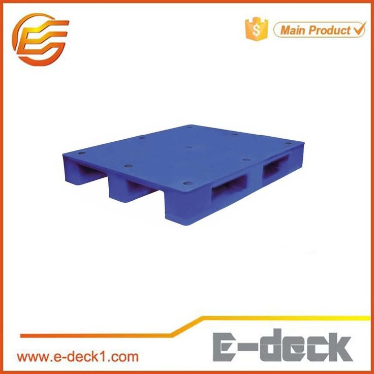 Standard size strong 4 way flat plastic Euro pallet with Best Price for supermarket