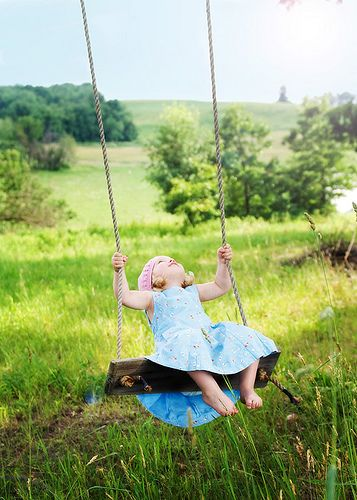 NOTHING like a swing in the country and all the time in the world to wonder and dream