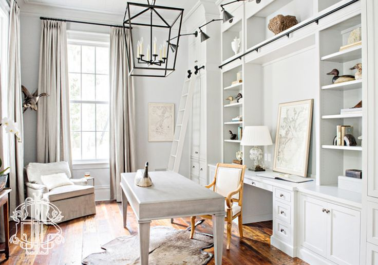Home offices by leah g bailey interior design savannah - Georgia furniture interiors savannah ga ...