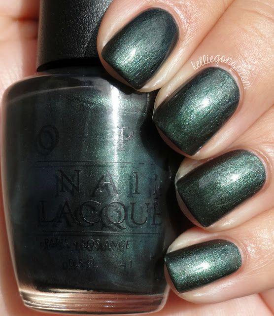 Blackened Dark Forest Green Metallic