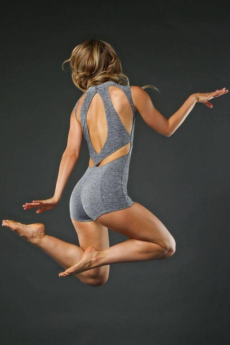 Gisele Uni | Jo+Jax Dancewear | Easy entry zipper front provides adjustable styling option | Uniquely styled back design provides a fashionable way to stay cool | Jo+Jax Dancewear & Activewear | Unitard | $72.00