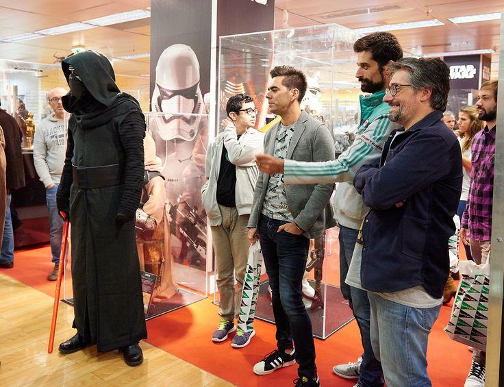 #AntónioRaminhos #PedroFernandes #NunoMarkl #Exposição #StarWars #ElCorteInglésPT