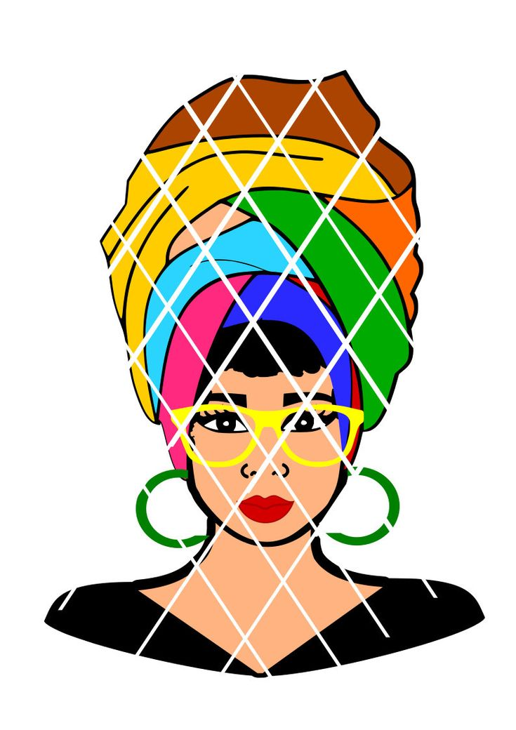 Download 26 best Natural Hair Afro Women svg cut files images on ...