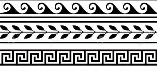 esempio di decorazione geometrica